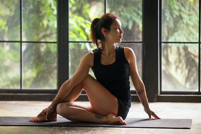Matsyendrasana (The Spinal Twist)