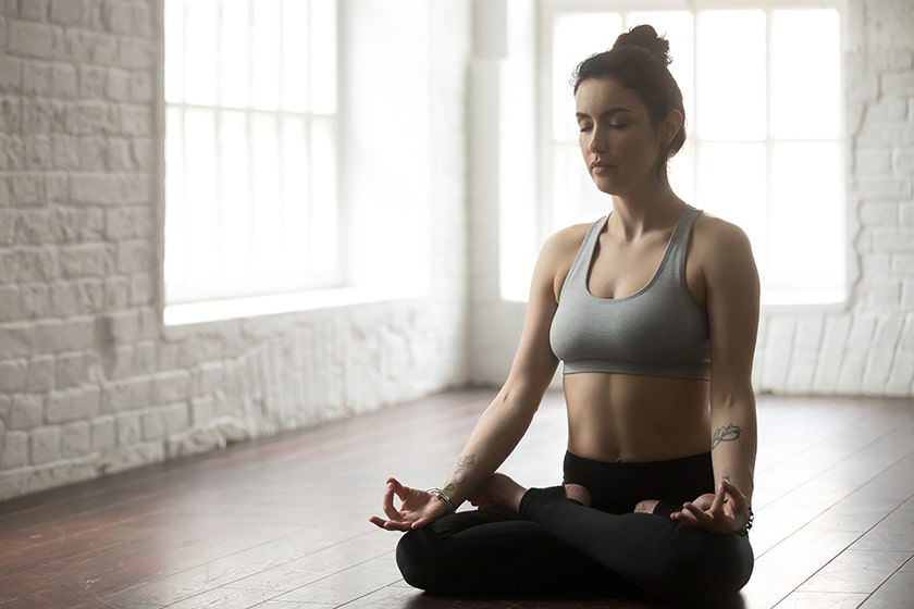 Padmasana (Lotus or Cross-Legged Pose)