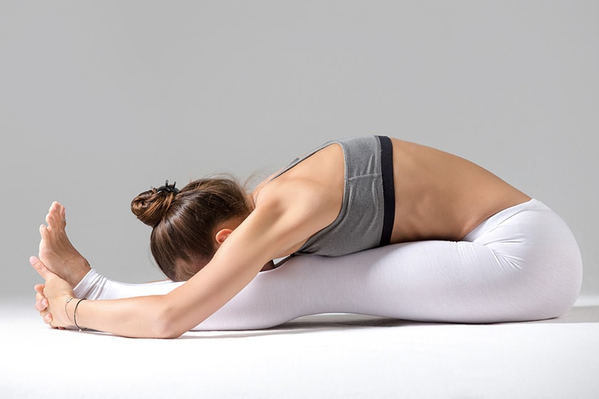 Paschimottanasana (Seated Forward Bend)