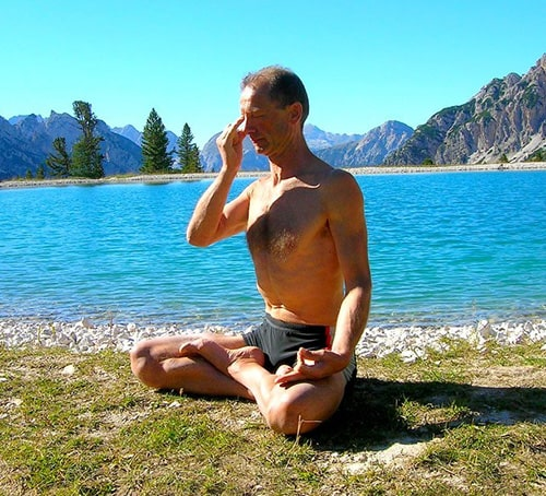 Pranayama (Simple Breathing Exercise)
